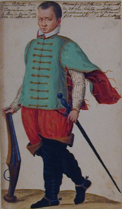 Foot Soldier holding an Arquebus (formerly identified as Jean Poltrot de Meray)