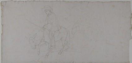 Two Men on Donkeys