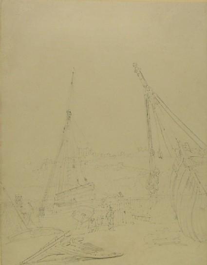 Harbour Scene at Dover