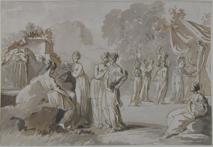 Greek Women at the Well