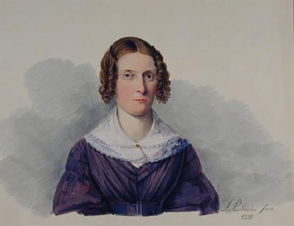 Frances Mary Lavinia Polidori, Mrs Gabriele Rossetti