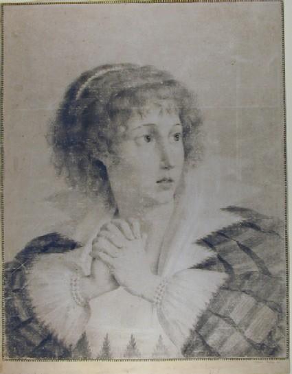 Lady Hamilton as Cordelia
