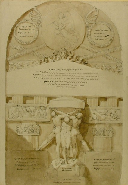 Design for a Tomb Monument