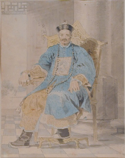 Portrait of Emperor Ch' ien-lung