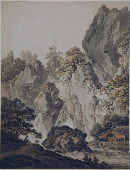 Alpine Landscape: Torrent de St Joseph au Canton de Soleure