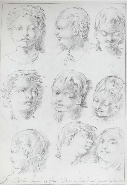 Nine Studies of a Child's Head