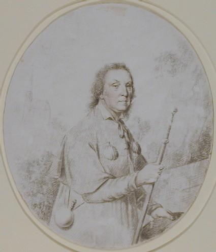 Portrait of a Man dressed as a Pilgrim