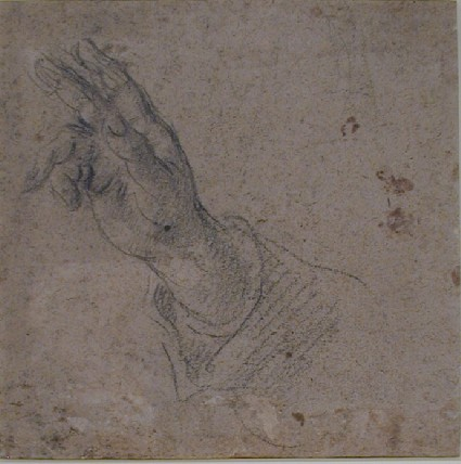 Recto: Hand and part of a Sleeve