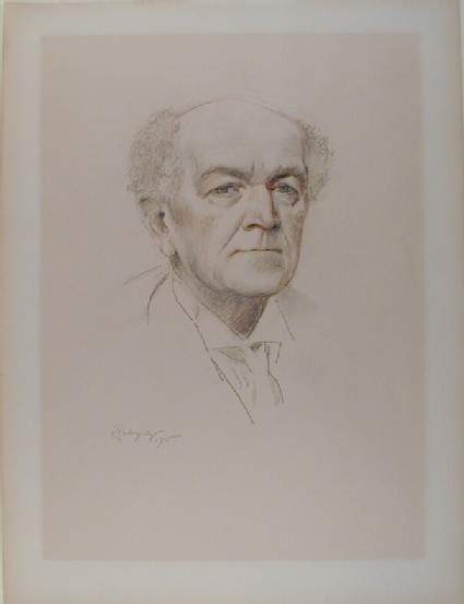Portrait of Nicolas Medtner
