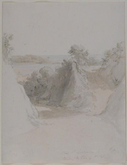 Landscape looking towards St Helier, Jersey