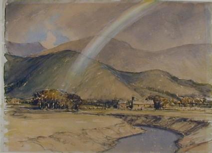 Rainbow over the Pennines