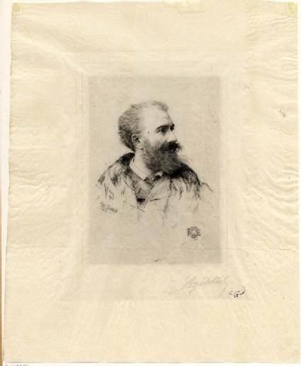 Portait of Félix Buhot