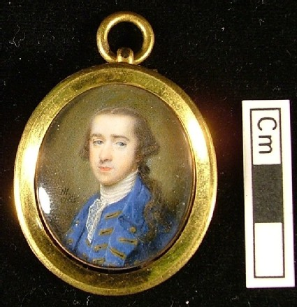 Man in a blue Coat, a member of the Bouverie Family
