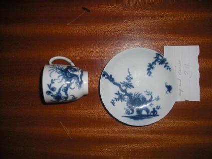 Miniature tea cup and saucer