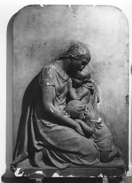Relief for a monument to Thomas Taylor Vernon of Hanbury Hall, Worcestershire (1792-1835)