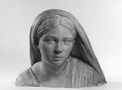 Hindu girl (fragment)