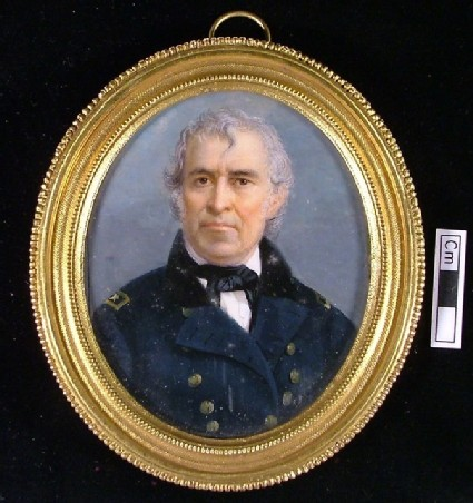 Portrait of Zachary Taylor, President of United States in 1849, previously thought to be Lord Duncan