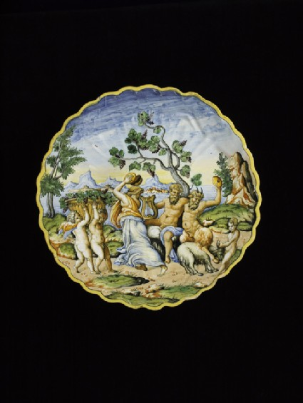 Bowl with A Bacchanale