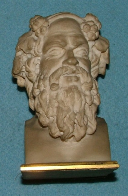 Head of a man with long beard, after head of the Verospi Jove in the Museo Pio Clementino of the Vatican
