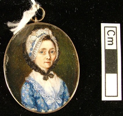 Portrait of an Old Lady in a White Bonnet