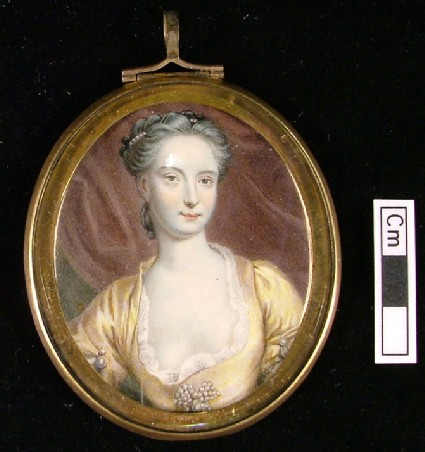 Portrait of Actress Catherine Clive