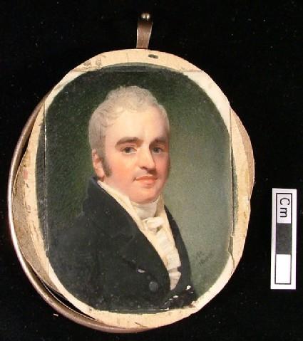 Portrait of a Man in a Black Coat