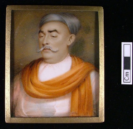Portrait of Jimsettje Bonranjee of Bombay (Mumbai)