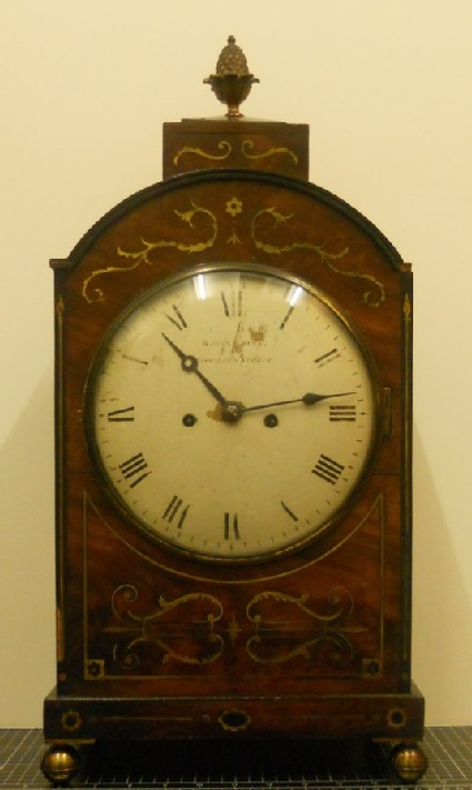 Eight-day striking bracket clock