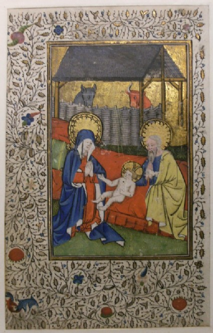 The Nativity, from a Book of Hours