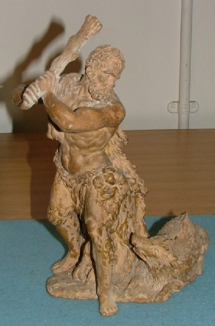 Hercules slaying the Erymanthian Boar