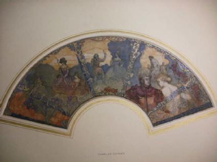 Fan: Hommage à Watteau