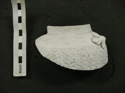 Sherd with moulded chrysanthemum pattern