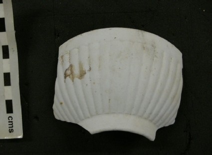 Sherd with ribbing