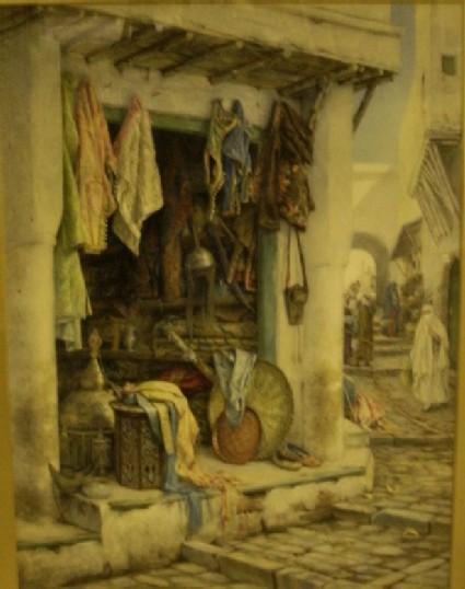 An Arab Shop, Algiers