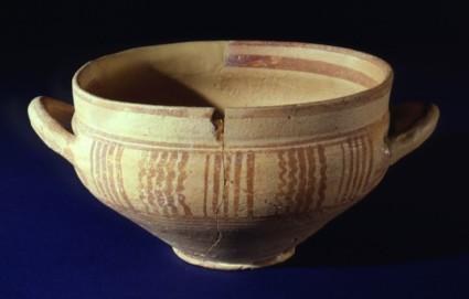 Cup, imitation of Greek Geometric skyphos