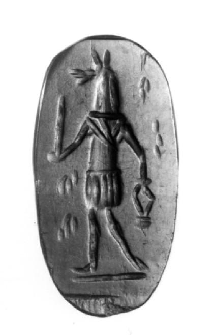 Magical intaglio, Anubis