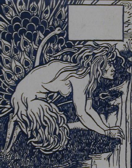 Crouching Faun, for Malory's 'Morte d'Arthur'