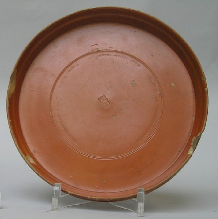 Red-slipped plate with stamp of Annius Sextus