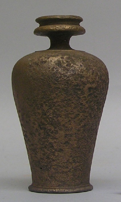 Bronze perfume jar