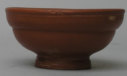 Red-slipped cup with marked DONTIOI