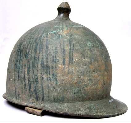 Roman bronze helmet, Montefortino type C