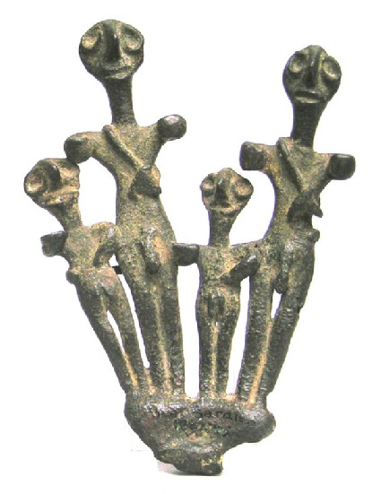 Group of four standing deities