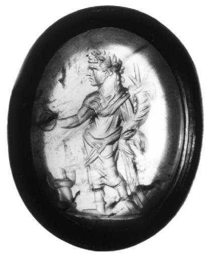 Intaglio gem, Emperor Caracalla
