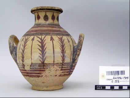 Bichrome V belly amphora