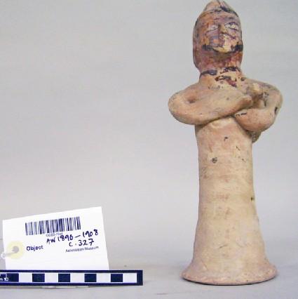 Warrior votary figurine (with sword)
