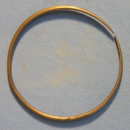 Gilded bronze bracelet