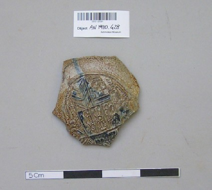 Bellarmine fragment with coat of arms