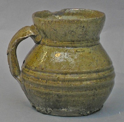 Necked cup, Cistercian type redware