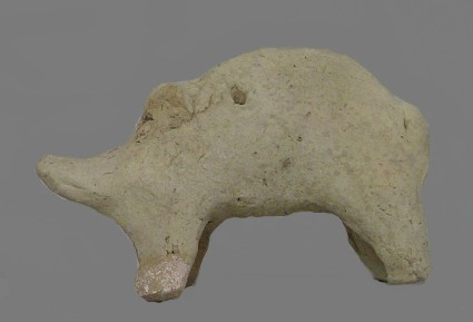 Figurine of a pig