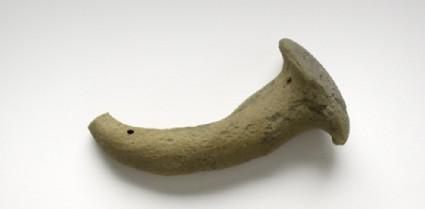 Clay 'nail' or pestle